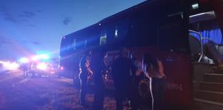 'Secuestra' camión de pasajeros