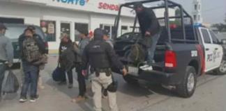 Rescatan a 7 migrantes