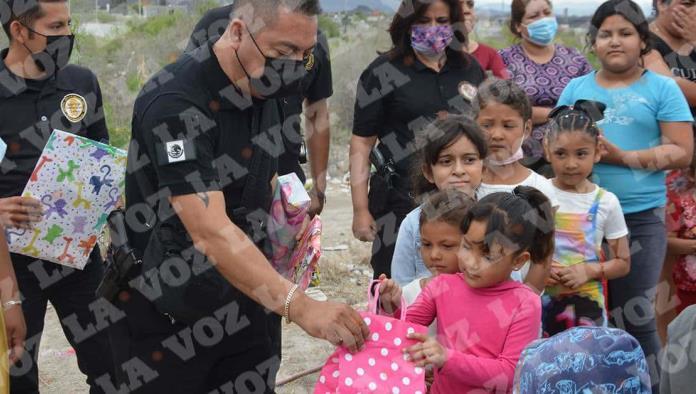 El supervisor regional de la AIC, Elías Briones, encabezó el convivio por el Día del Niño.