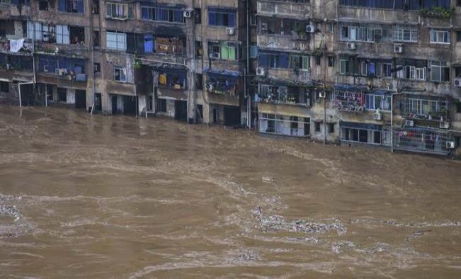Fuertes lluvias en China dejan 11 muertos y miles de damnificados
