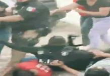 Conato de violencia no dejó lesionados