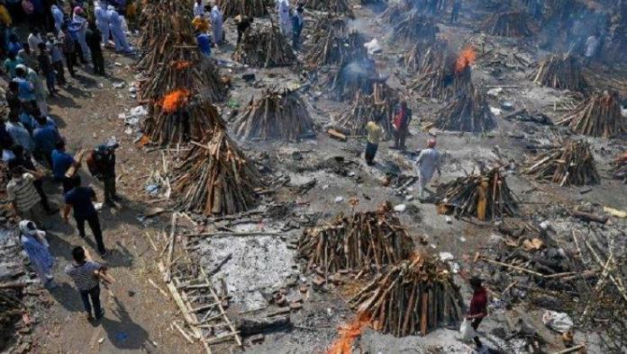 Nuevo récord de muertes por COVID-19 en India: 3,689 en un día