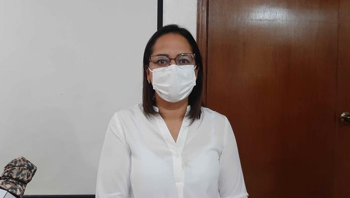 La doctora Priscila Hernández, coordinadora de promoción de la salud.
