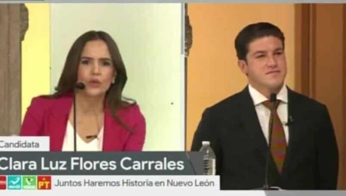Clara Luz Flores contra Samuel GarcíaCaptura de vídeo