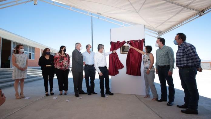 Inaugura MARS escuela primaria