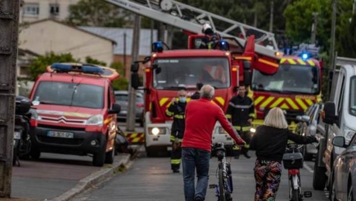 Hombre quema viva a su esposa en Francia