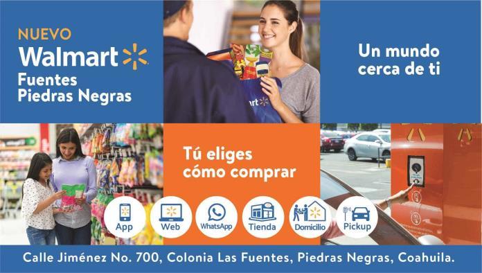 La espera ha terminado, Walmart Fuentes Piedras Negras abre mañana sus puertas