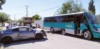 Provoca fuerte accidente vial