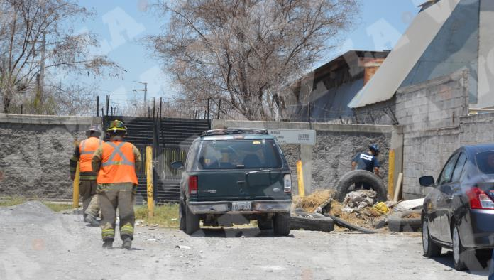 'Fuga' de amoniaco moviliza a Bomberos