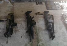 Granadas, lanzacohetes y armas largas: vinculan a proceso a tres integrantes del CJNG
