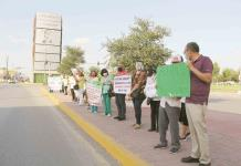 Protestan pensionados