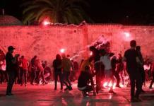Enfrentamientos en Jerusalén dejan más de 200 heridos