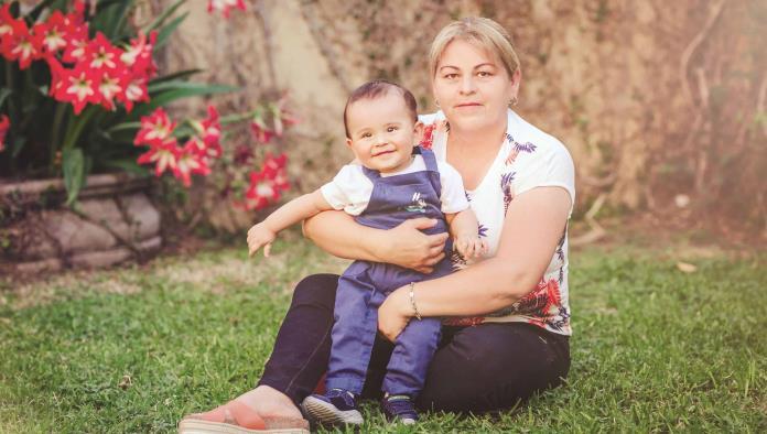 Carlitos y su hermosa familia