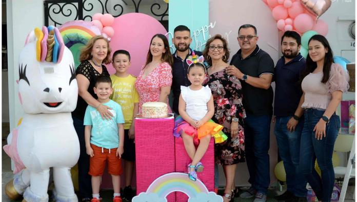 Ana Lucía cumplió 6 años