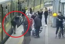 Mujer cae a vías del Metro de Dublín; era acosada por grupo de hombres