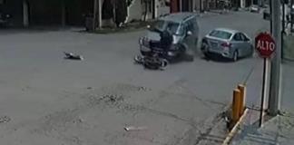 Fuerte choque, cinco lesionados