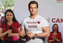 Henry Cavill: La candidata Montserrat Ruiz Páez lo usa para ganar votos