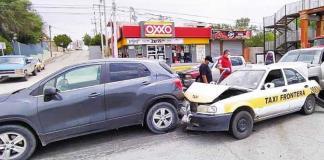 Ocasiona fuerte accidente vial