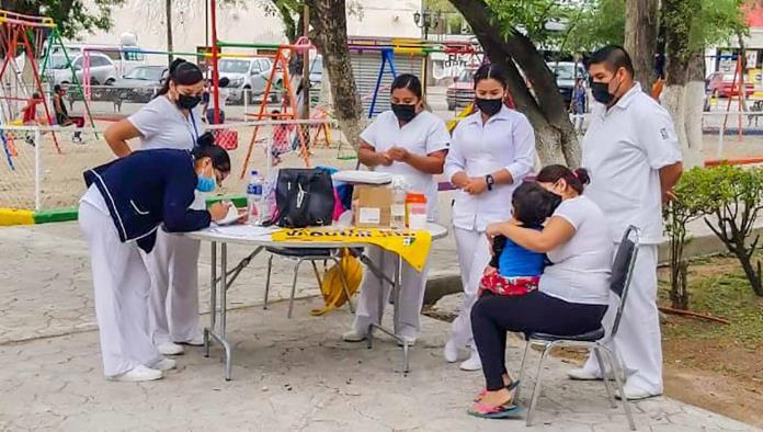 Inmunizan a niños de Zaragoza