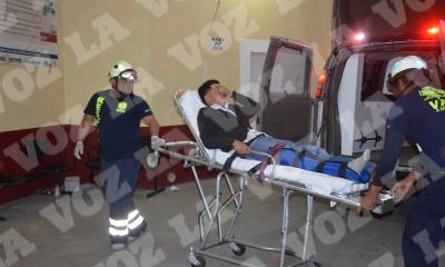 Un joven lesionado y dos mujeres con crisis nerviosa fue en la Del Río