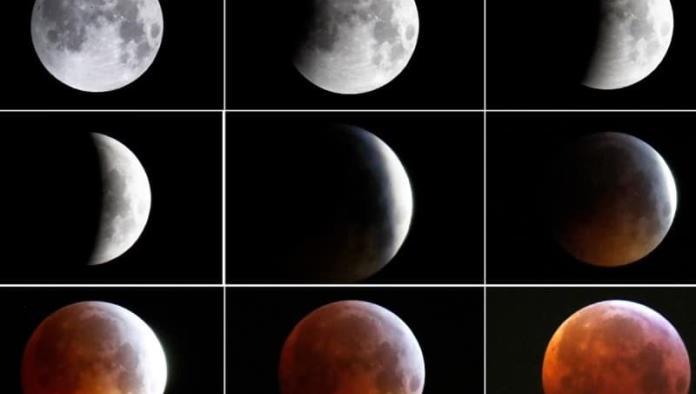 Horarios y links para ver el eclipse de la superluna de sangre