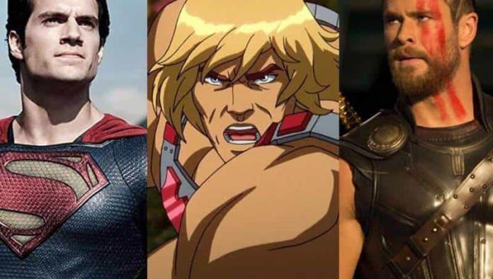 Henry Cavill y Chris Hemsworth pelean por ser el nuevo He-Man