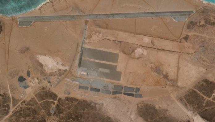 Misteriosa base aérea que nadie se atribuye está siendo construida Yemen