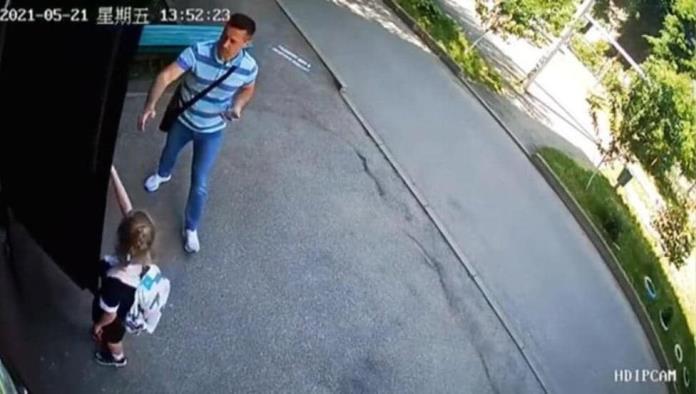 Pedófilo siguió a niña hasta su casa, ella logró escapar (video)