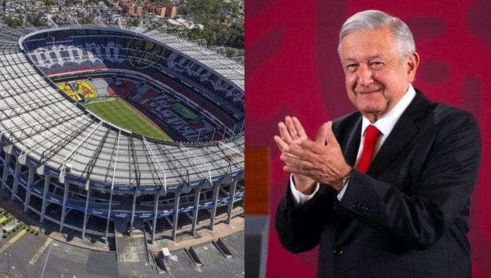 Palco en estadio Azteca y casas serán los premios de la nueva rifa: AMLO