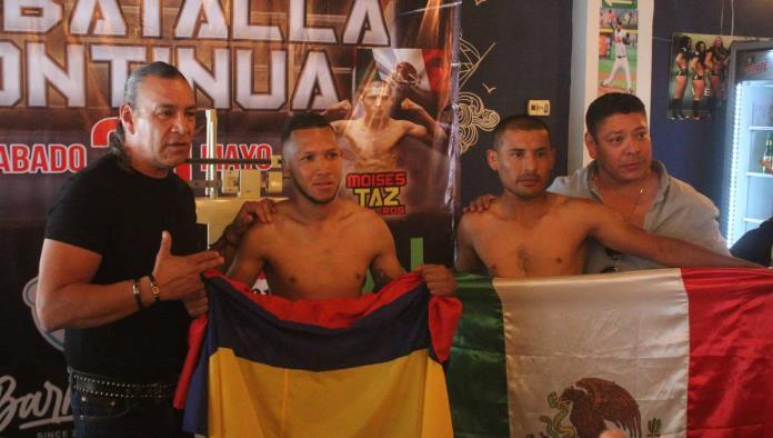 'Taz' Calleros dió el peso