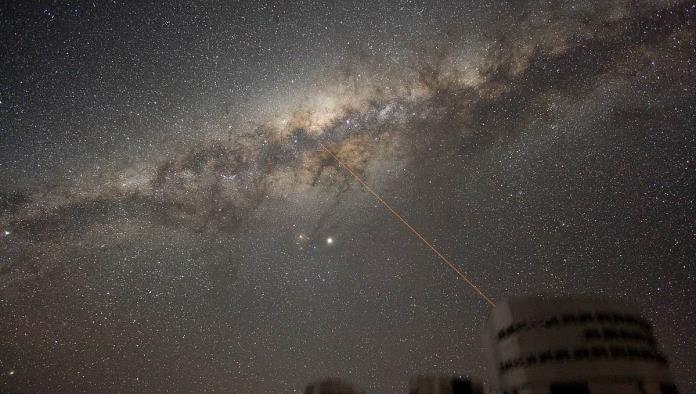 Difunde la NASA imagen del centro de la Vía Láctea