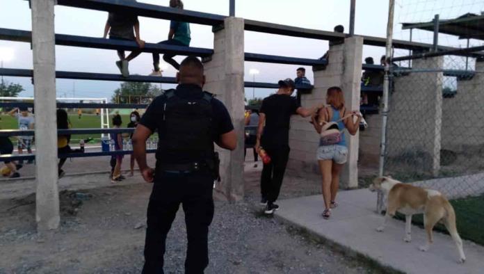 Vigila Seguridad Pública Unidad Deportiva