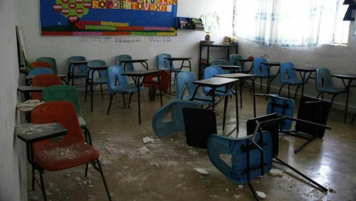 Robos y daños a escuelas se incrementó en 45%