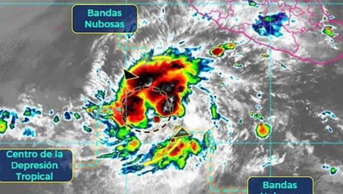 Depresión tropical Dos-E se convertirá en la tormenta tropical Blanca