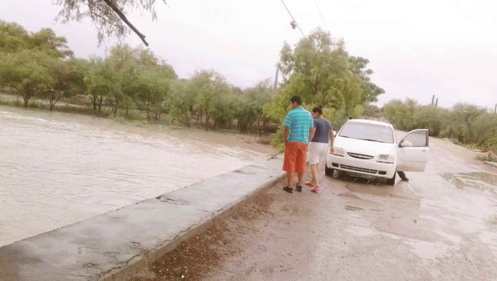 Advierten riesgo en el río Álamos