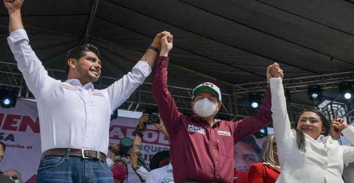 Elecciones 2021: Profesor en Michoacán promete '10 a quienes no voten por Morena