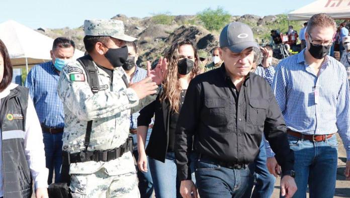 Continúan acciones de rescate de mineros en Múzquiz