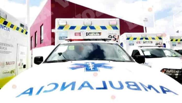 Envía MARS ambulancias a Múzquiz