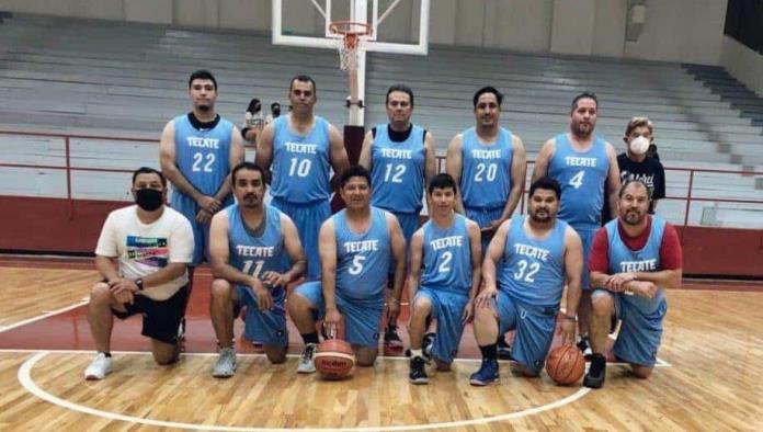 Tecate supera jornada doble en el baloncesto