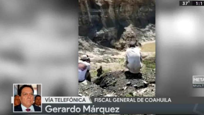 """Existen poca posibilidades de que mineros atrapados estén vivos"": Fiscal de Coahuila"