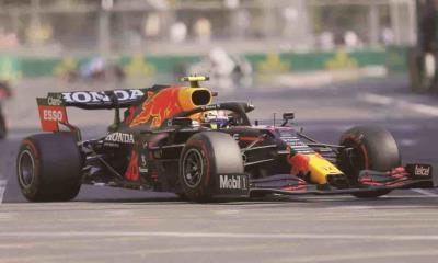 ´Checo´ Pérez conquista el GP de Azerbaiyán