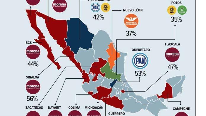 El pasado 6 de junio tuvo lugar una de las elecciones más importantes de México