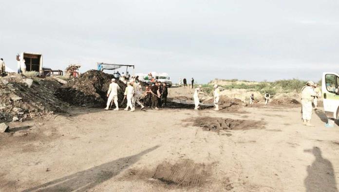 Sacaron ya 4 cuerpos de la mina