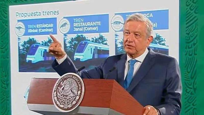 Convoyes del Tren Maya serán hechos en México: López Obrador