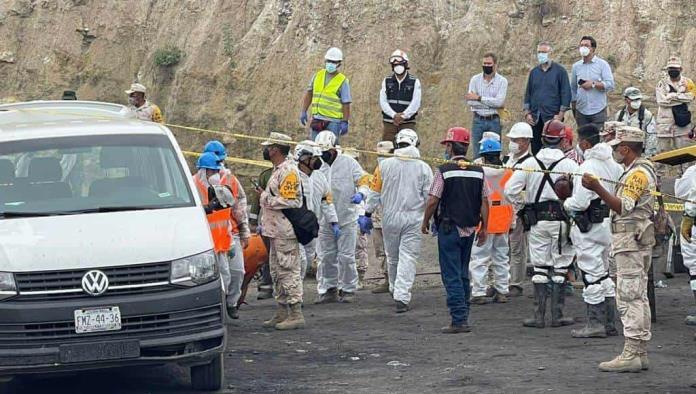 Encuentran a quinto minero tras intensa búsqueda