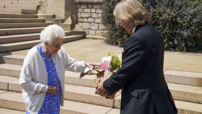 Plantado una rosa, así conmemora Isabel II el cumpleaños 100 del Príncipe Felipe