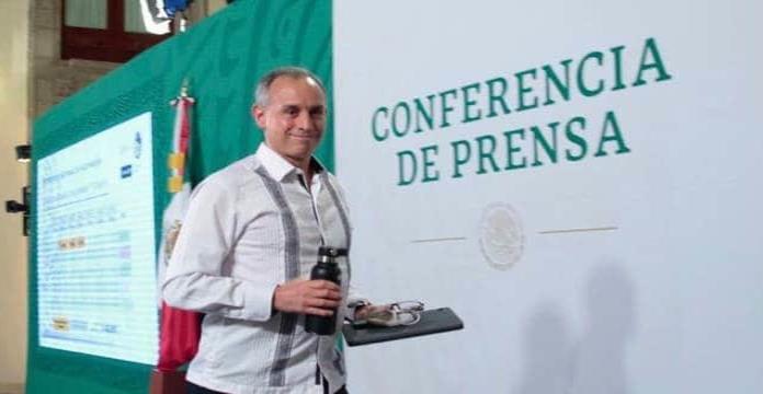 López-Gatell niega que conferencias hayan terminado por pelea con Peniley Ramírez