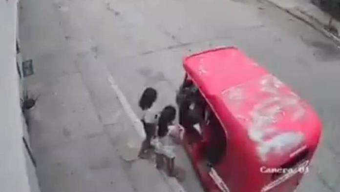 Cae taxista que hacía tocamientos a niñas en Tabasco