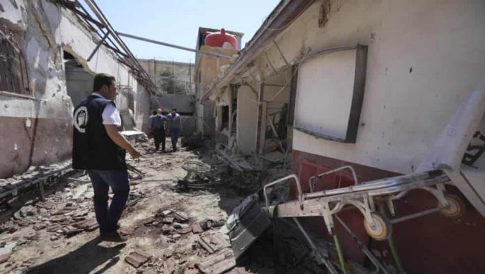 Siria: Deja 21 muertos ataque a hospital