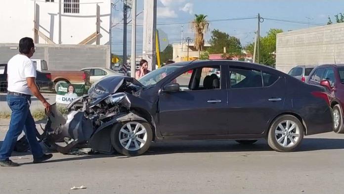 ¡Aparatoso accidente!
